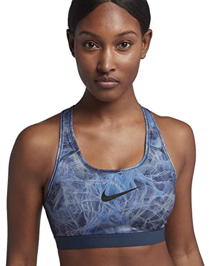 navy blue nike sports bra