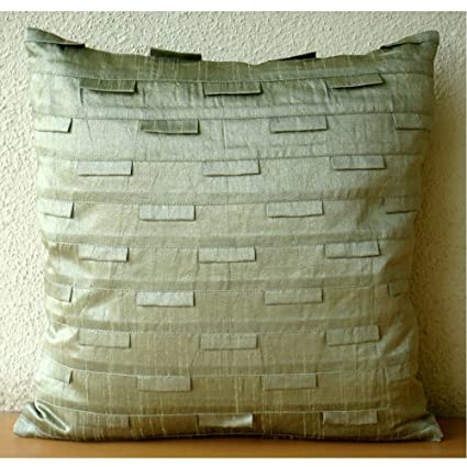 Amazoncom Pillow Covers 20x20 Taupe Luxury Taupe Green Pillows