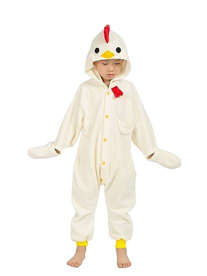 9afce07eedc5 BELIFECOS Childrens Chicken Costumes Animal Onesies Kids Homewear Pajamas 85
