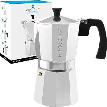 Grosche Milano Stovetop Espresso Maker Moka Pot