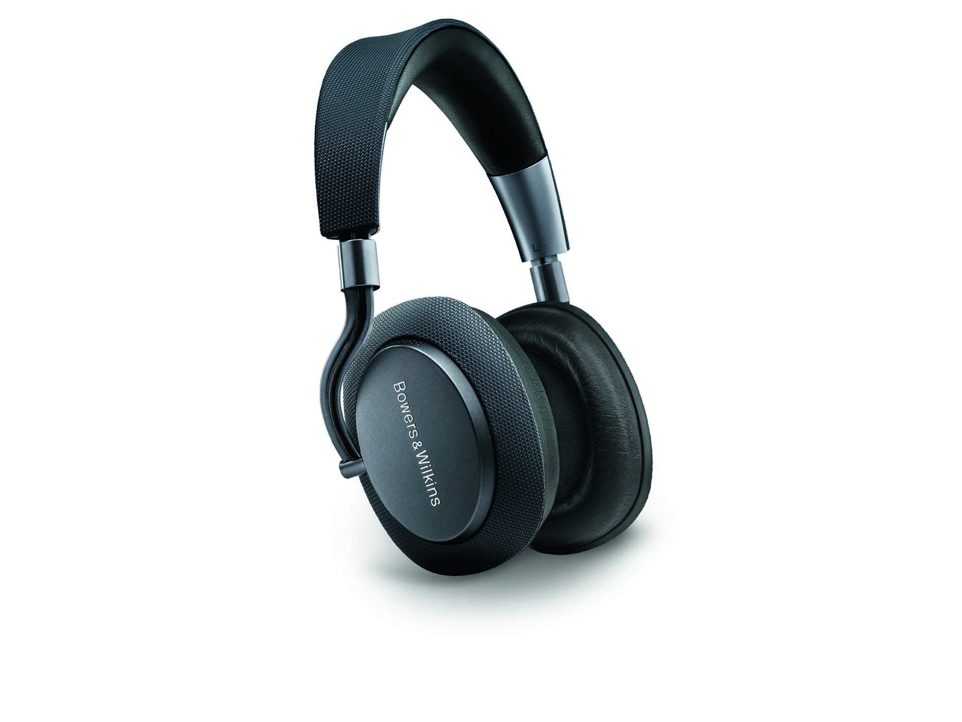 Bowers & Wilkins PX Wireless Headphones, Noise Cancelling, Space Grey by Bowers & Wilkins