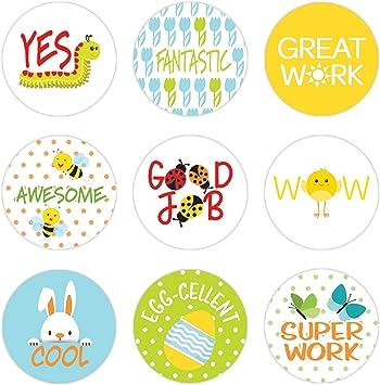 Teacher Sticker Sheet 60 Cool Reward Stickers