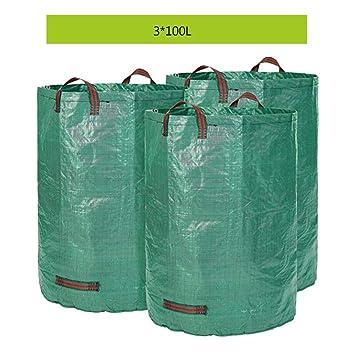 YAOBAO Paquete de 3 Bolsas De Residuos De Jardín, Bolsas De ...