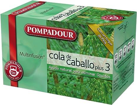 Pompadour - Cola De Caballo Plus 3 - [pack de 3]: Amazon.es ...