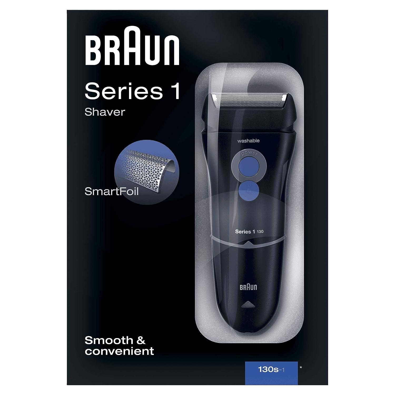 Braun Series 1-130s  Rasierer Series 1 130 Netzrasierer SCHWARZ Herrenrasierer