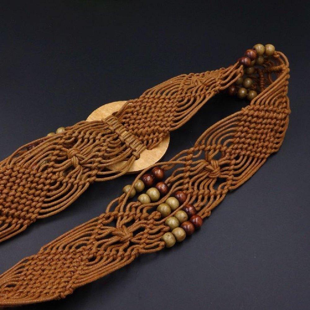 Cinlan Women's Bohemian Style Rope Braid Waist Belt (Style3) by Cinlan (Image #2)
