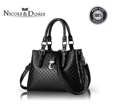 30518b0ff0f NICOLE DORIS new handbag minimalist fashion handbag shoulder bag Messenger  bag big bag purse for women(
