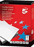 5 Star 961315 CIE 160 Carta multifunzione A3, 80 g, 500 Fogli, Bianco