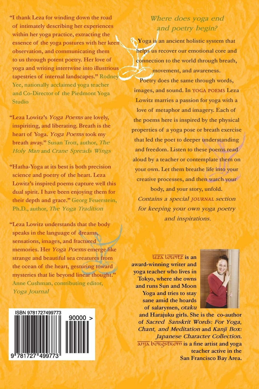 Yoga Poems: Lines to Unfold By: Amazon.es: Leza Lowitz, Anja ...