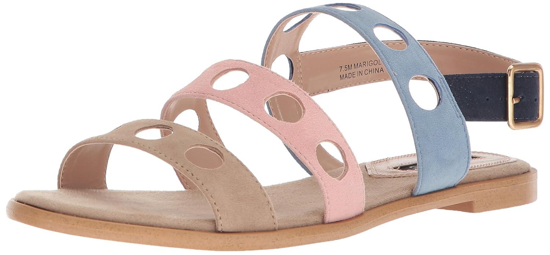 kensie Women's Marigold Flat Sandal B0786WXFGQ 7 M US|Pastel Multi