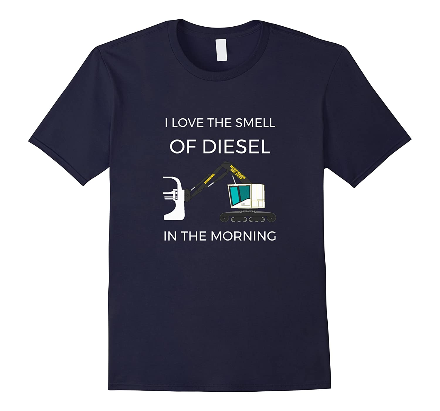 I Love The Smell Of Diesel In The Morning Shear Tshirt-CL