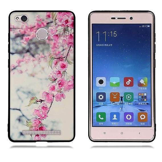 on sale 4ee2b fc754 Amazon.com: Xiaomi Redmi 3s Case, Xiaomi Redmi 3 Case, FUBAODA ...