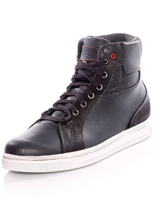 1c65264288129 TCX Street Ace Waterproof Men's Street Motorcycle Shoes - Black / 45