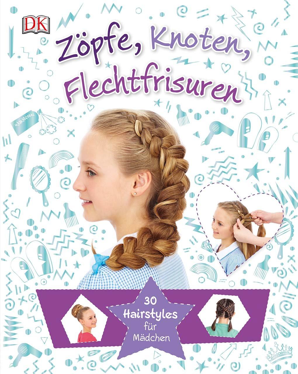 Zöpfe Knoten Flechtfrisuren  30 Hairstyles Für Mädchen