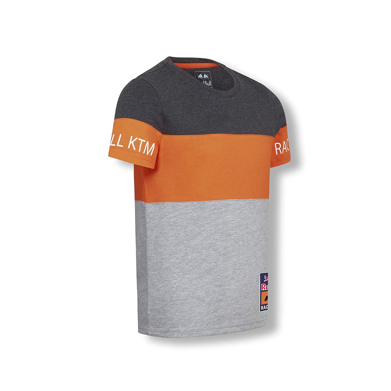 Red Bull KTM Letra Block T-Camisa, Gris Niños Camisa Manga Larga ...