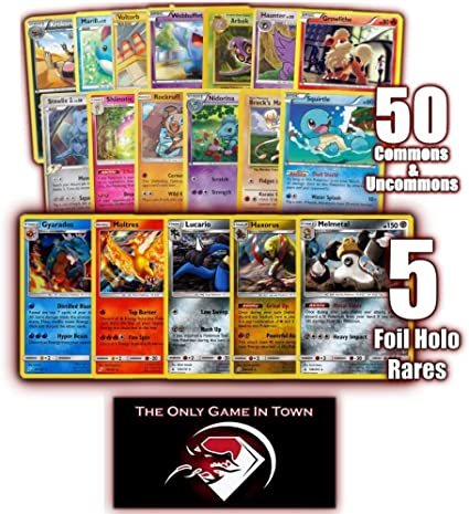 ONLY Holographic Cards!! Rare Pokemon Lot Collection