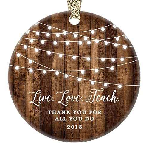 Amazon.com: Teacher Christmas Gifts, Thank You Teacher Christmas ...