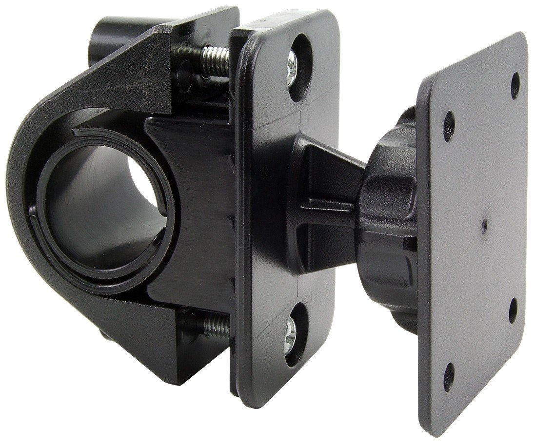 Arkon GN032-AMPS Bicycle and Motorcycle Mount with 4-AMPS Connection Compatible with RAM GPS Holders (Black)