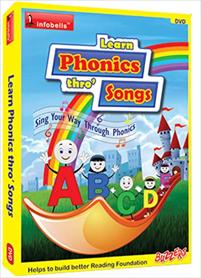 Amazon in: Buy Infobells Learn Phonics Thro' Songs DVD, Blu