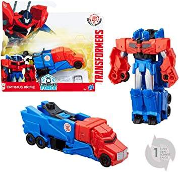 Transformers - Rid 1 Paso Optimus (Hasbro C0648ES0): Amazon.es: Juguetes y juegos