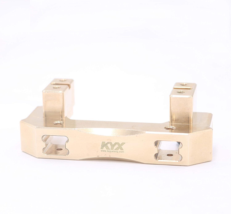 KYX Racing 119g//pcs CNC Brass Front Bumper /& Servo Mount Upgrades Parts Accessories for RC Crawler Car Traxxas TRX4 TRX-4
