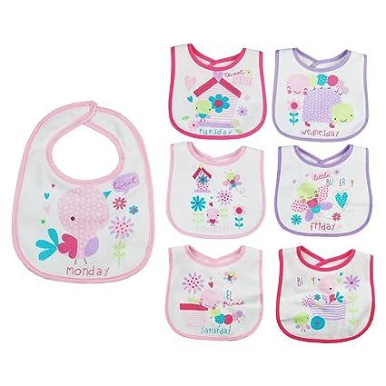 Algodón bebé baberos Bundle Set para niños niñas bebés recién ...