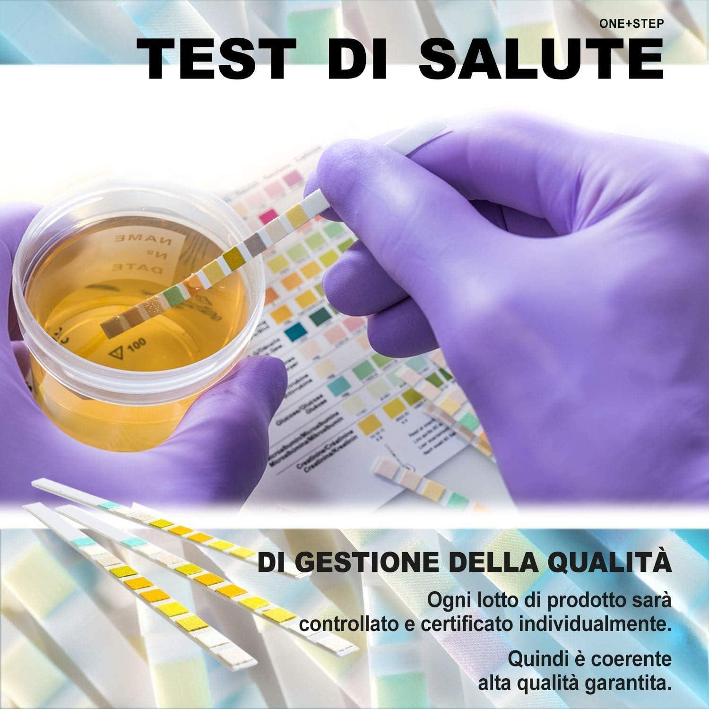 10 x para análisis de orina tiras Multisticks (2 paquetes de 5) -10 parámetro Professional/GP Pruebas de orina – PH/Glucosa/Ketone/Hígado y Riñón ...