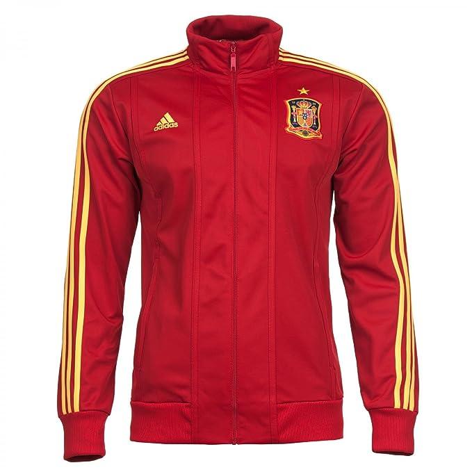 Adidas - Sudadera de fútbol sala para hombre, tamaño L, color univerred/su: Amazon.es: Ropa y accesorios