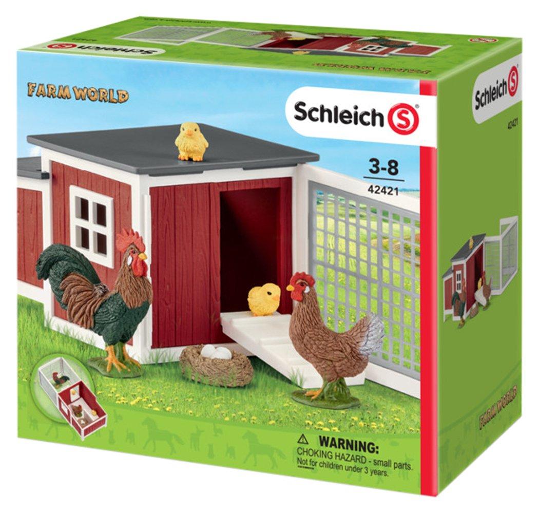 Schleich Chicken COOP Schleich North America 42421