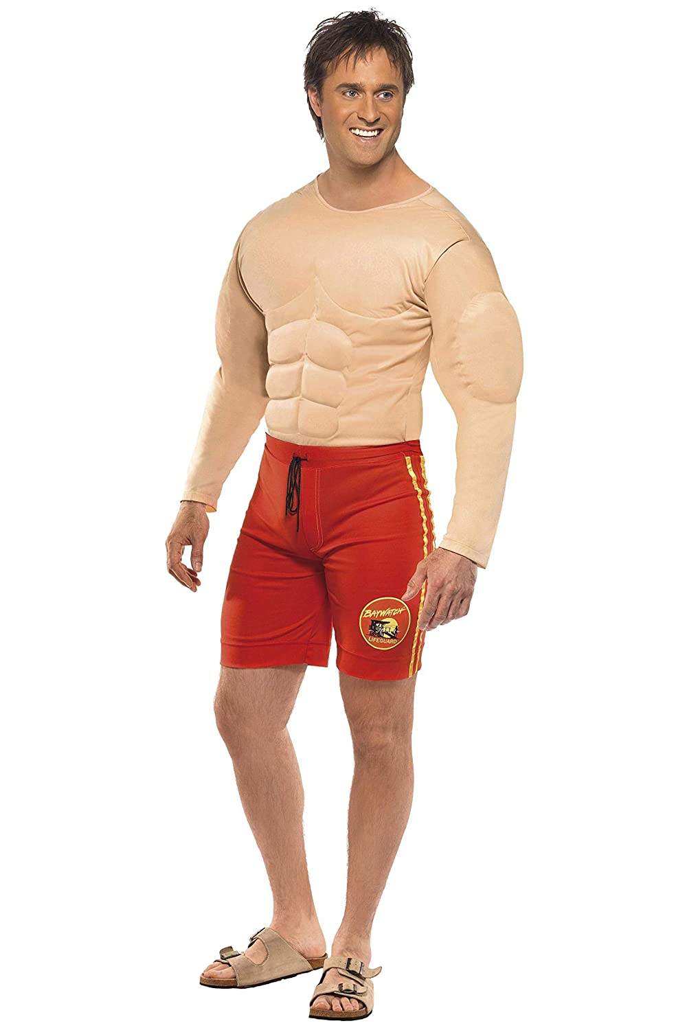 7cc70a4d81a Smiffys Officially Licensed Baywatch Lifeguard Costume  Smiffys   Amazon.co.uk  Toys   Games