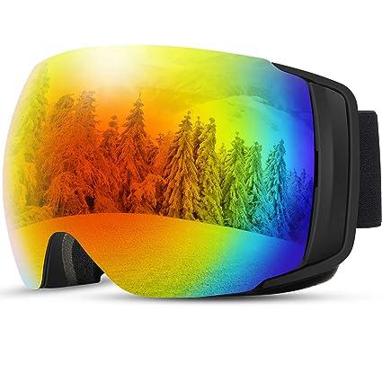 2019 Nuevo] TDW Gafas de Esquí Anti-niebla, Lente magnética con ...
