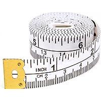 Hemline H252 | Metric & Imperial Analogical Fibreglass Tape Measure | 150cm/60in