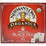 Newman's OwnOrganics Royal Tea, Organic Black Tea, 100 Individually Wrapped Tea Bags, 7.05-Ounce Boxes (Pack of 5)