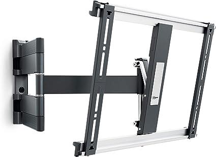"""MONITOR LED LCD TV STAFFA A PARETE UNIVERSALE Mount 10/"""" a 26/"""" MAX 19kg"""
