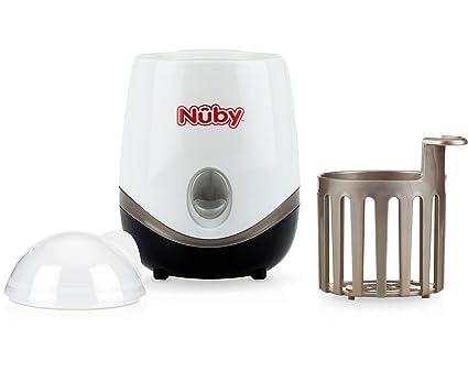 Nûby ID1564 - Esterilizador y calienta biberón 3 en 1, Color blanco ...