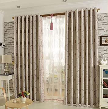 Gardinen für Wohnzimmer, Modern Einfachheit Blickdicht Verdunklungsgardine  Vorhang für Schlafzimmer Wohnzimmer 1 piece-C 350x270cm(138x106inch)