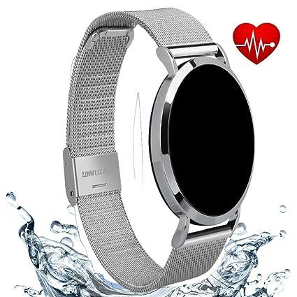 Amazon.com: Winnes IP67 Waterproof Bluetooth Smart Watch 24 ...