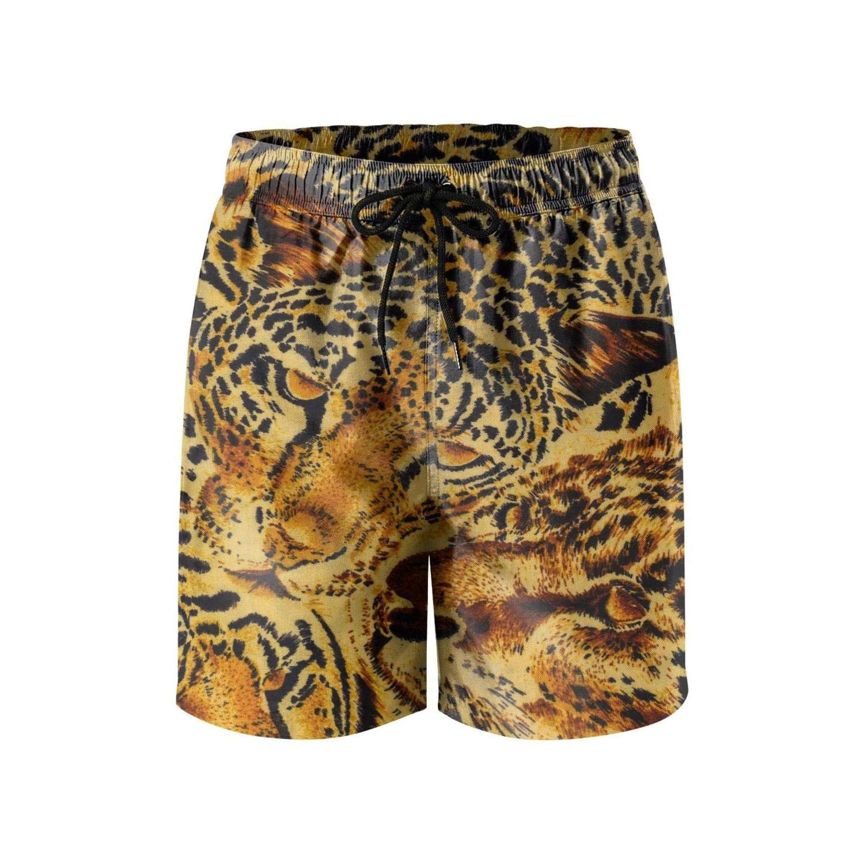 Feewearior Mens Beach Shorts Fashion Camouflage Swimming Trunks Quick Dry Pants Beachwear