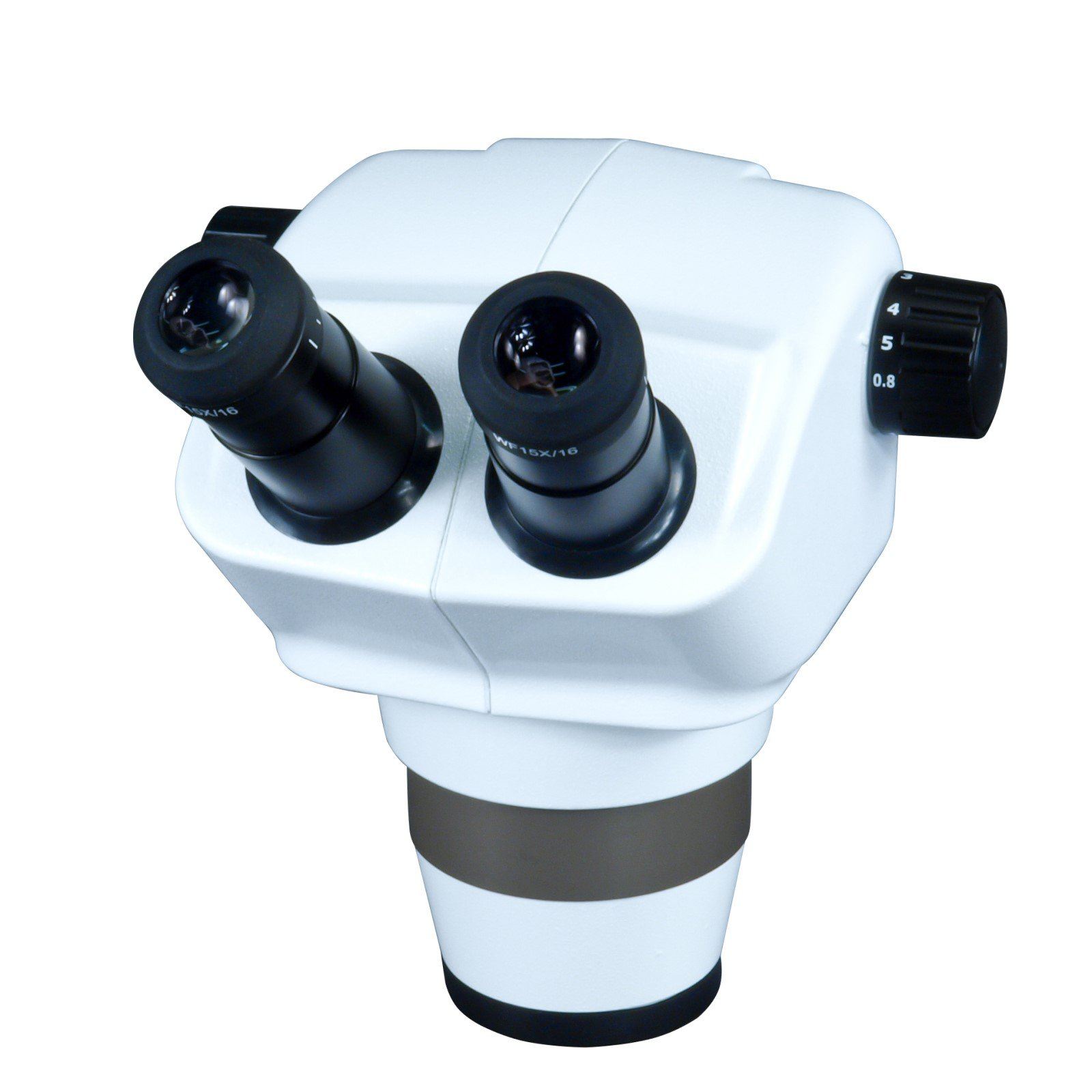 OMAX 12X-75X Top Quality Zoom Binocular Stereo Microscope Body with 76mm Mount Size by OMAX