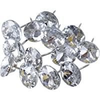 SUPVOX 30 UNIDS 25mm Rhinestone Crystal Nail Tacks