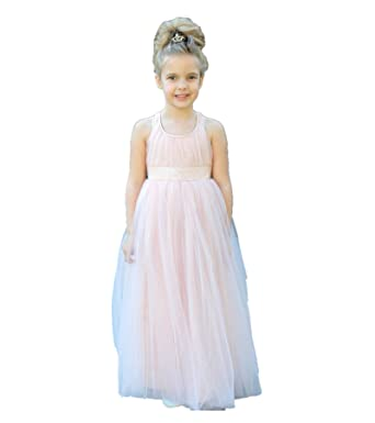 Ekidsbridal Sweetheart Neckline Cross Straps A Line Flower Girl Dresses  Wedding Pageant Dresses Junior Dress