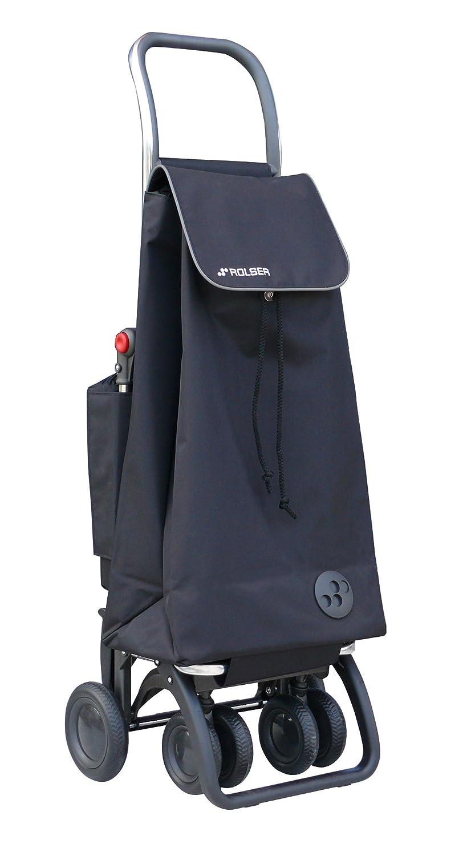 Rolser PAC047 Logic Tour - Carro de la compra con bolsillo térmico, color negro: Amazon.es: Hogar