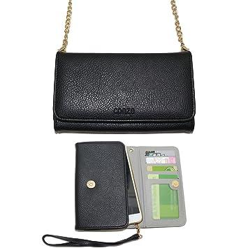 Conze moda teléfono celular Llevar bolsa pequeña con correa Cruz encaja vivo V5/Lite/