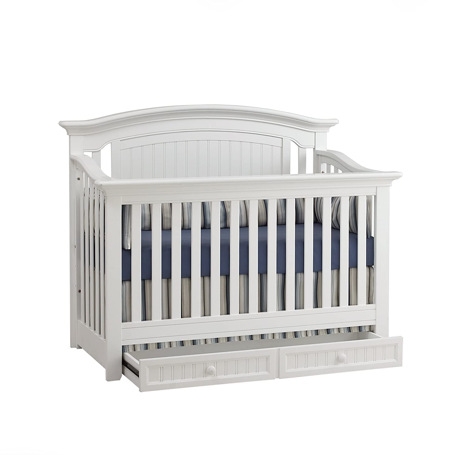 Suite Bebe Winchester 4 in 1 Convertible Crib White