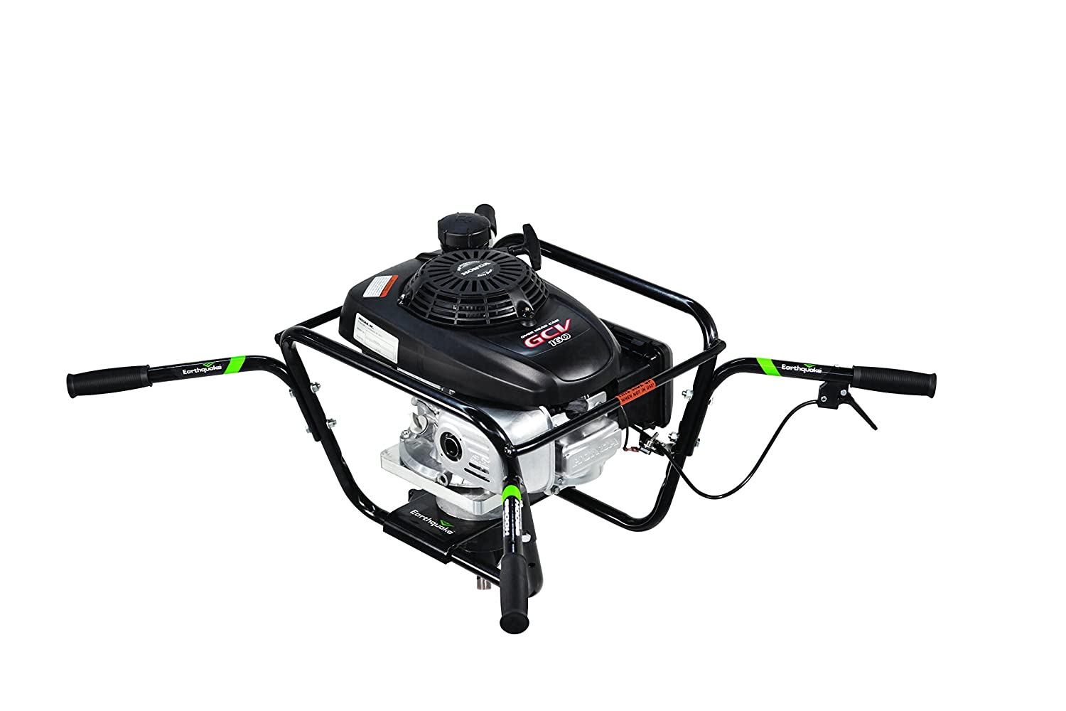 Earthquake 9800H 2-Person Earth Auger Powerhead with 160cc 4-Cycle Honda Engine, 5 Year Warranty