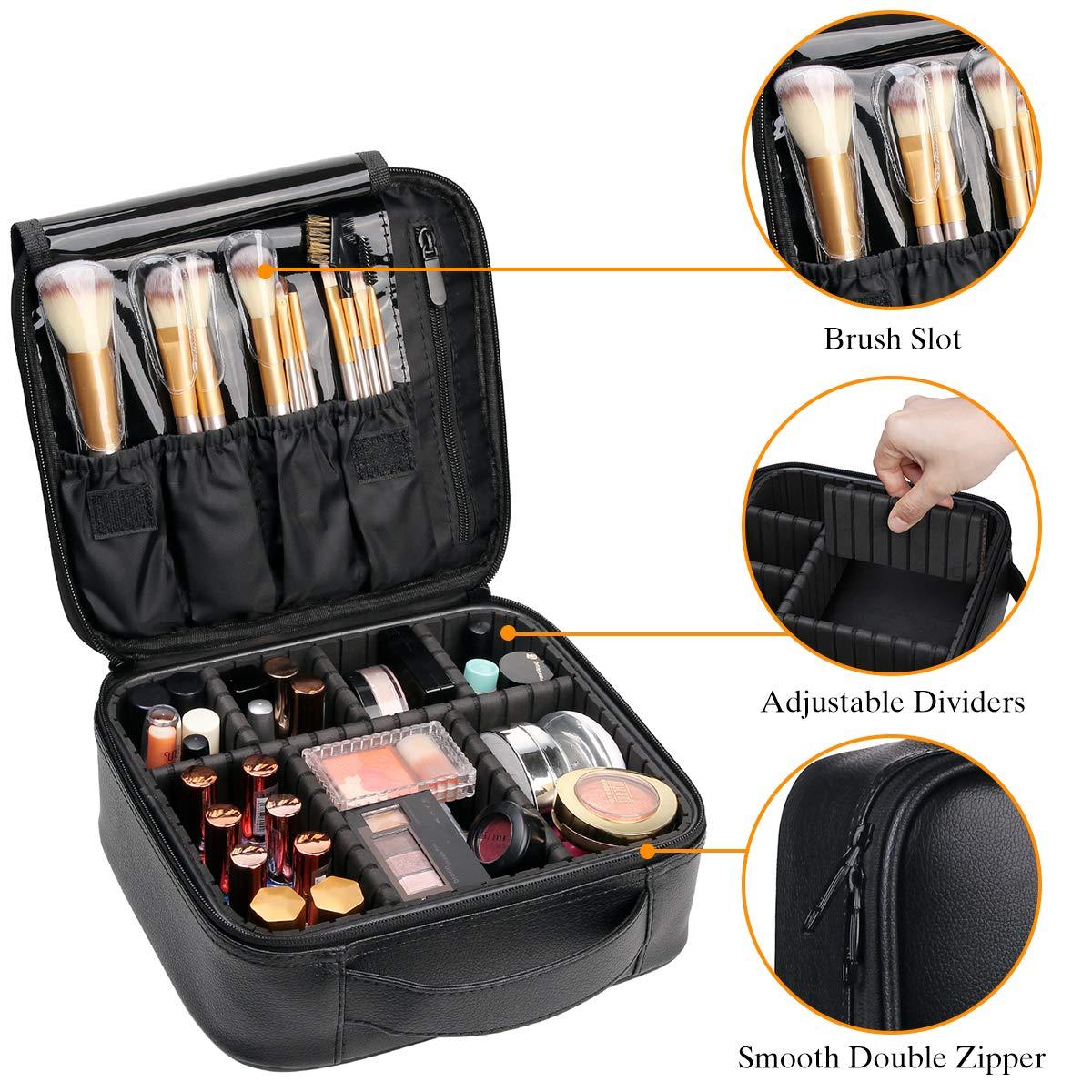 Amazon coupon code for Makeup Case Travel Makeup Bags Organizer for Women Professional