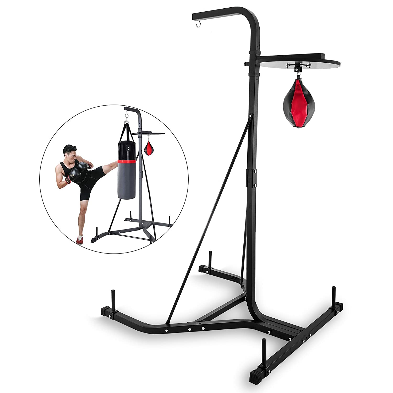 Moracle Soporte de Saco de Boxeo de Altura Ajustable Soporte Saco Boxeo Plegable Soporte para Home Fitness