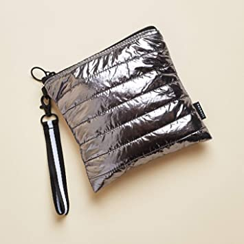 Amazon.com: Sephora Silver Puffer Cosmetic Bag, Luxe Vol.2 ...