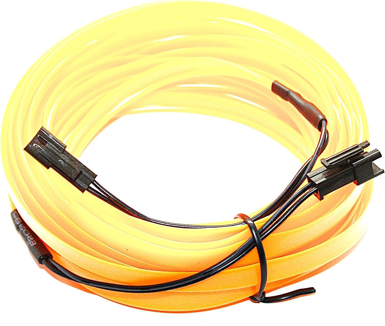 Ambientebeleuchtung Neon blau wei/ß Orange LED-Mafia 5m EL Lichtleiste 3,59/€//m
