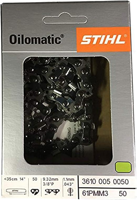 Cadena de sierra Stihl 3//8 1.3 mm 50 GL 35 cm Espada Picco Super PS 3617 000 0050